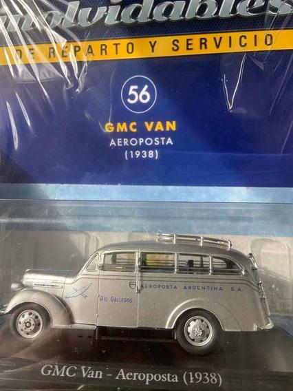 Gmc Van. Aeroposta 1938- Autos Inolvidables De Servicio N56