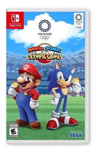 Imagen 1 de 4 de Mario & Sonic Tokyo 2020 - Nintendo Switch