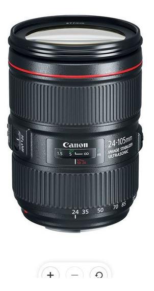 Canon Ef 24-105 L Is Ii Na Caixa