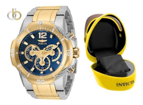 Relógio Invicta Bolt 31348 Original Swiss + Caixa Capacete