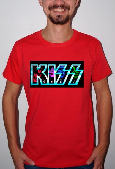 Baby Look Ou Camiseta Kiss