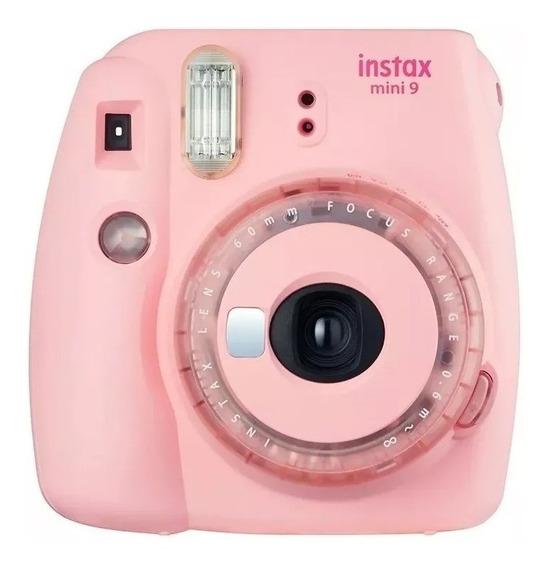 Câmera Instantânea Fujifilm Instax Mini 9 - Cor Rosa