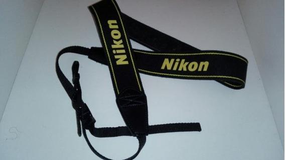 Alça De Pescoço Nikon Neck Strap Dslr