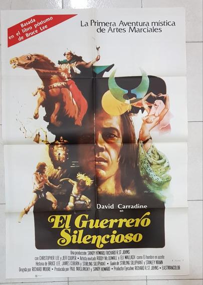 Antiguo Afiche De Cine Con David Carradine- Envio Gratis