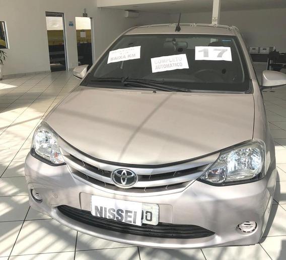 Toyota Etios 1.3 X Automatico Unico Dono Baixa Km
