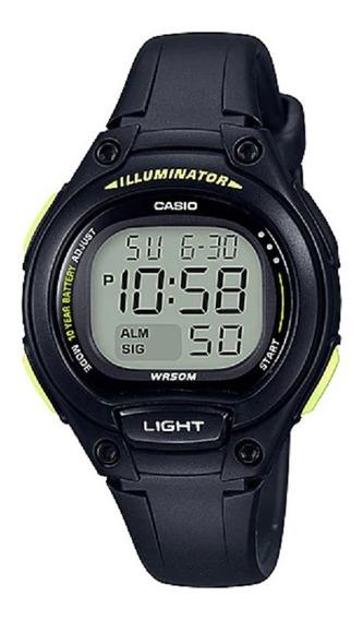 Relógio Casio Unissex Iluminator Lw-203 1bvdf Digital