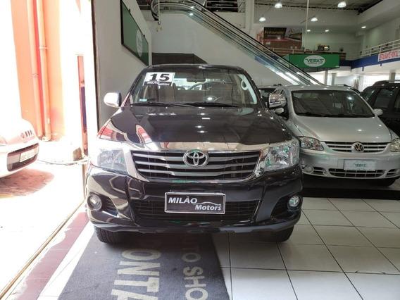 Toyota Hilux Flex 2015 2.7 Flex Srv 4x4 Cd 16v