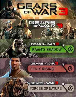 Seasson Pass Gears Of War 3 Dlc Skins, Pesonajes, Mapas