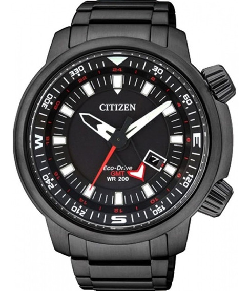 Relógio Citizen Eco Drive Bj7085-50e Tz30759p Nfe + Garanti