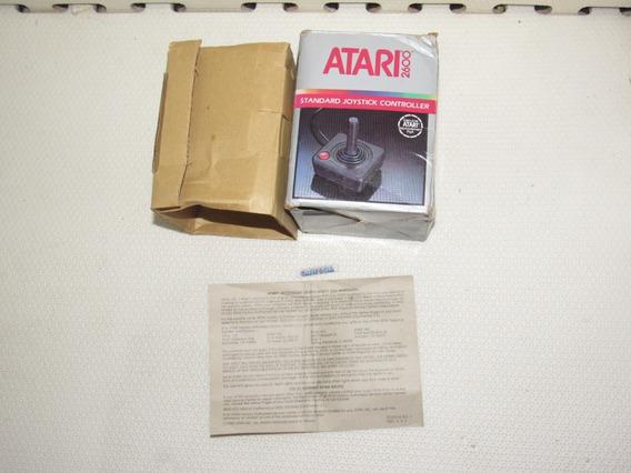Somente Caixa Original Com Manual Controle Atari 2600