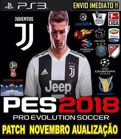 Pacht Atualização Pes 18 Cr7 Juventus Envio Rápido