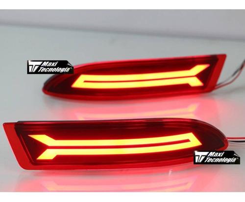 Imagen 1 de 5 de Toyota Avanza 2019-2020 2 Reflejantes Con Luz Led Para Facia