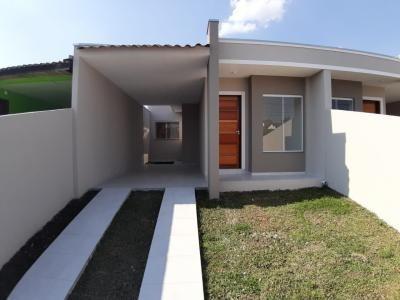 Casa 03 Quartos Sendo 01 Suíte - Bairro Cachoeira Araucária - 242