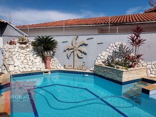 Imagem 1 de 25 de Casa Com 4 Dormitórios À Venda, 290 M² Por R$ 849.990,00 - Cibratel I - Itanhaém/sp - Ca1897