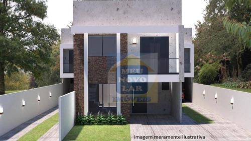 Sobrado Com 3 Dormitórios À Venda, 110 M² Por R$ 430.000,00 - Fazendinha - Curitiba/pr - So0326