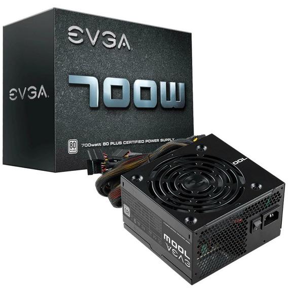 Fonte Evga Atx 700w 80 Plus White Power Supply 100-w1-0700
