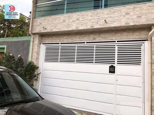Imagem 1 de 15 de Sobrado - Burgo Paulista - Ref: 9170 - V-9170