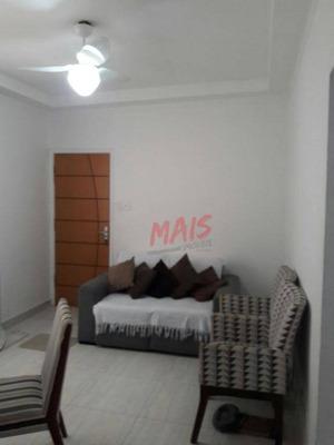 Apartamento Com 2 Dormitórios À Venda, 65 M² Por R$ 285.000 - Ponta Da Praia - Santos/sp - Ap5075