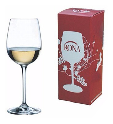 Copa Vino Rona 450 Ml, Crystal Rock - Bazar Colucci
