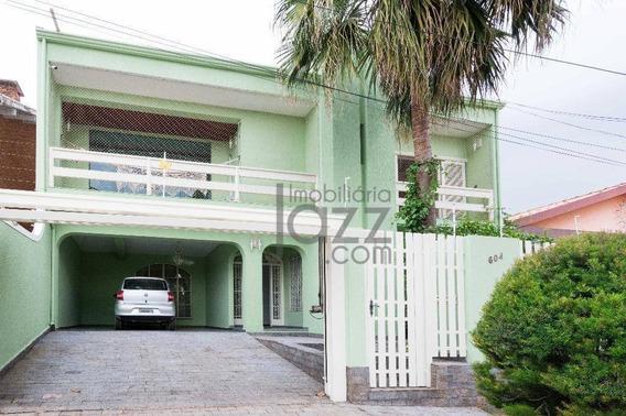 Casa Residencial À Venda, Jardim Chapadão, Campinas - Ca3249. - Ca3249