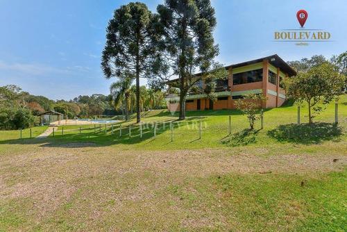 Imagem 1 de 26 de Sede Campestre À Venda, 89876 M² Por R$ 4.943.180 - Laranjeiras - Piraquara/pr - Ch0007
