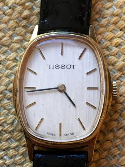 Antigo Relógio De Pulso Tissot Ouro 18k
