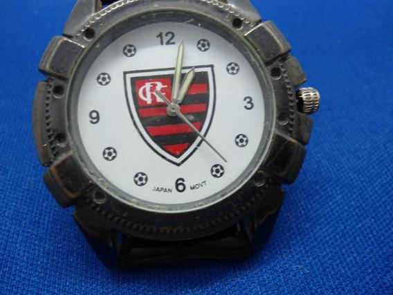 Relógio Do Flamengo Usado Em Mostruario Com Pequenos Desgast