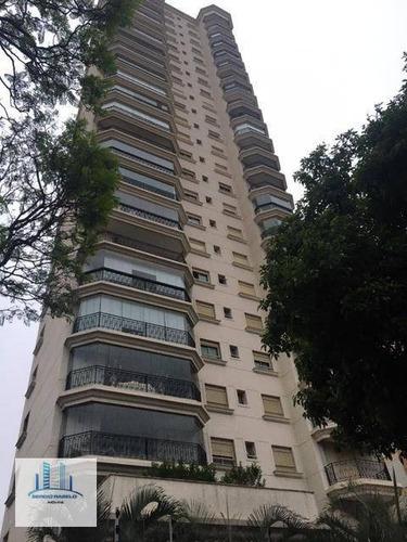Imagem 1 de 30 de Apartamento Com 4 Dormitórios À Venda, 195 M² Por R$ 1.800.000,00 - Campo Belo - São Paulo/sp - Ap3501