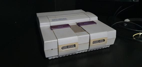 Super Nintendo Original 2 Controles - Mário Original 5 Fitas