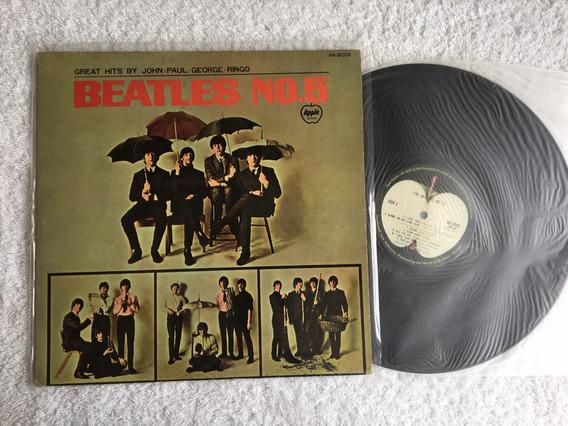 Lp The Beatles - Nº 5 (japão) Frete Grátis