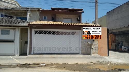 Casa Residencial Em Jardim Dos Ipês - Suzano, Sp - 2158