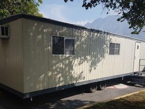 Camper Caseta Remolque Oficina Aula Movil 10x48 Pies