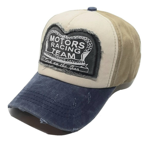 Gorras Cap Vintage Motor Racing Gastadas Trucker Importadas