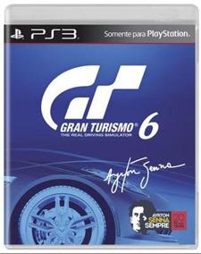 Gran Turismo 6 (mídia Física 100% Em Portugues) - Ps3