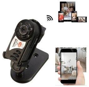 Mini Q7 Camera 480p Wifi Dv Dvr Wireless Ip Pronta Entrega