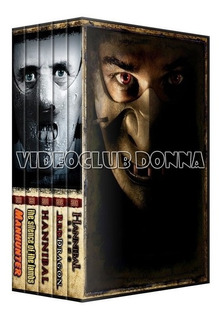 Hannibal Saga Completa Pack 5 Peliculas Colección En Dvd