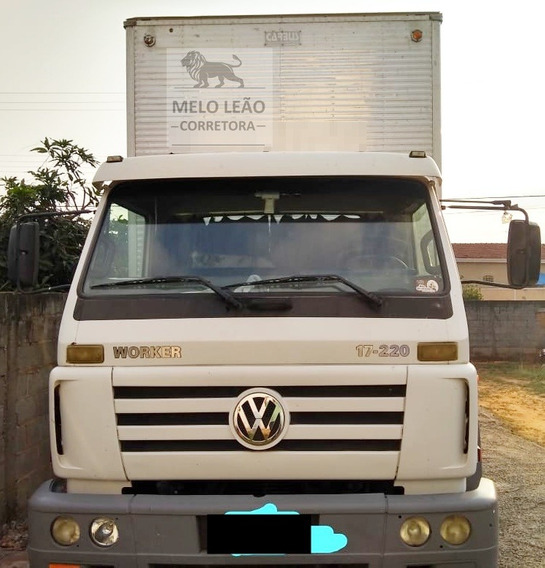 Vw 17-220 Worker - 07/07 - Toco, Baú De Alumínio