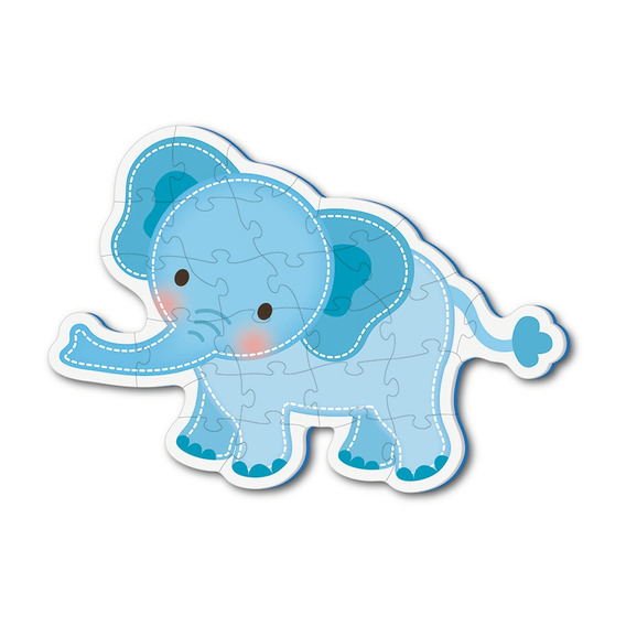 27 Pc Elephant Puzzle Eva Only
