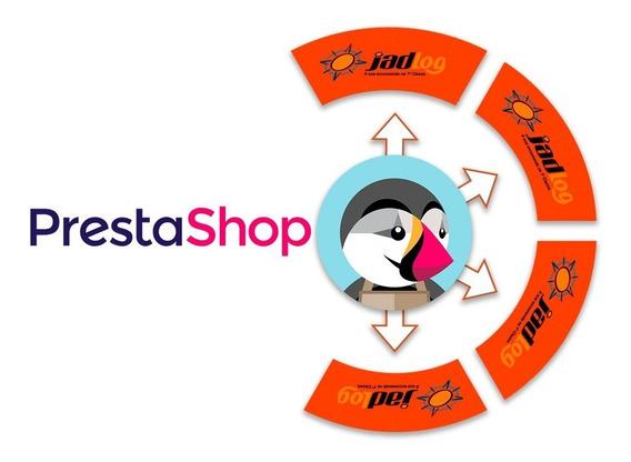 Modulo Jadlog Lojas Prestashop 1.6 - Plugin Jad Log Ps 1.6.x