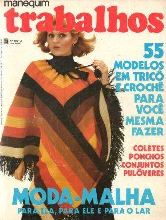 Manequim Trabalhos 1975 - Capa: Zélia Toledo