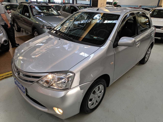 Toyota Etios 1.3 Xs Prata 2013 (baixa Km + Completissímo)