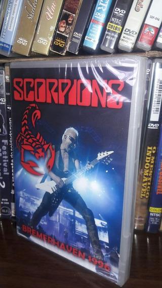 Dvd Scorpions Bremerhaven 1996 Original Lacrado Frete 7.00
