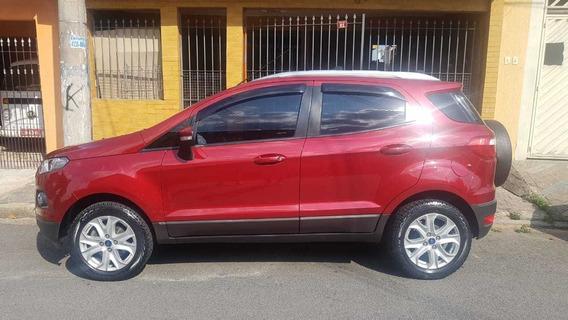 Ford New Ecosport 2.0 Titanium Aut 2015 Flex Vermelha Linda!