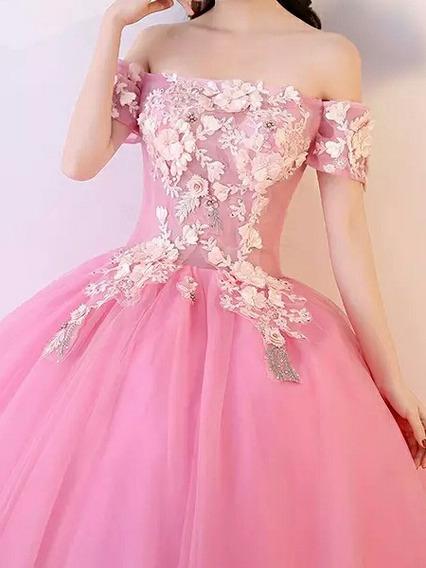 Vestidi Xv Años Rosa