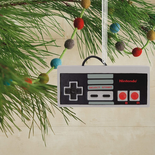 Imagen 1 de 5 de Adorno Para Árbol De Navidad Original Control Nintendo (nes)