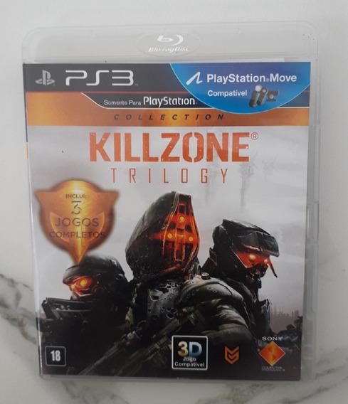 Jogo Killzone Trilogy Ps3 - Mídia Física - Usado - Seminovo