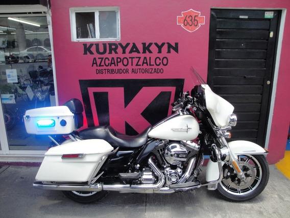 Electra Glide Police Impecable Recibo Moto Full Equipo Nacio