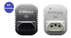 Kit Economia - Economicus Preto + Econoplug Branco