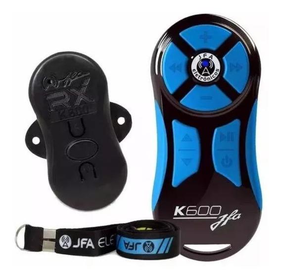 Controle Longa Distancia Completo Jfa K600 Preto / Azul