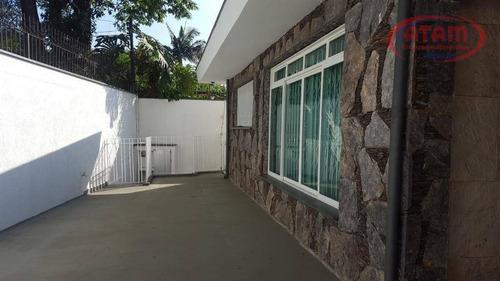 4 Dorms/1suite-casa 337m2- Terreno 975m2 - Nobre Vila Romana - Ca0725